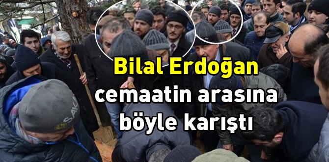 Bilal Erdoğan Mengen'e cenazeye geldi.