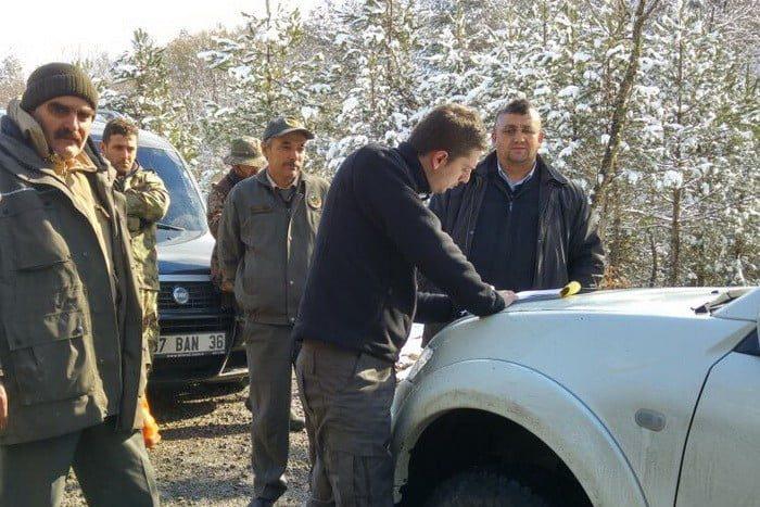 Mengen Orman İşletme Müdürlüğü Kaçak Avcılara Göz Açtırmıyor…