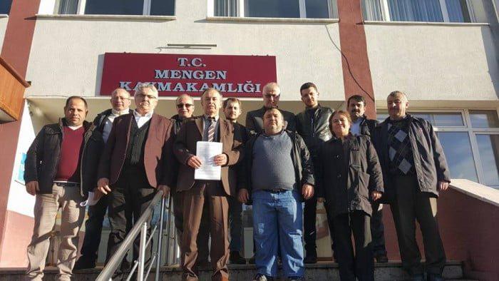 AK Parti Mengen ilçe Başkanı Sargın' Cumhurbaşkanımıza sahip çıktık