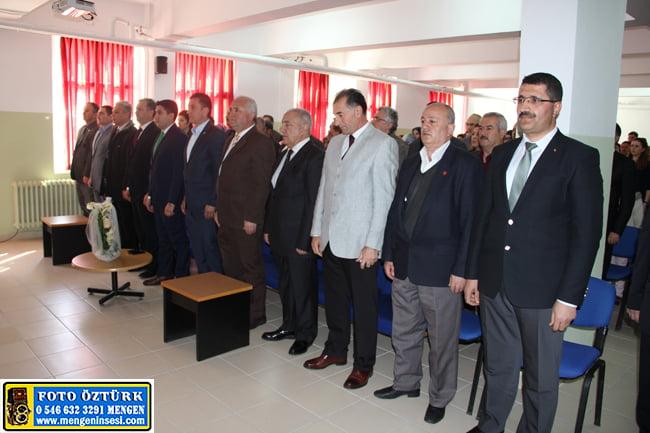 İlçemizde İstiklal Marşının Kabulü ve Mehmet Akif Ersoy'u Anma Programı Düzenlendi