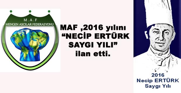 Mengen Aşçılar Federasyonu'ndan yaşayan efsane NECİP ERTÜRK' e büyük vefa.