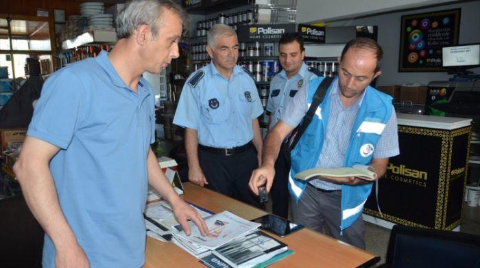 Mengen'de 45 iş yerinde sigara denetlemesi yapıldı