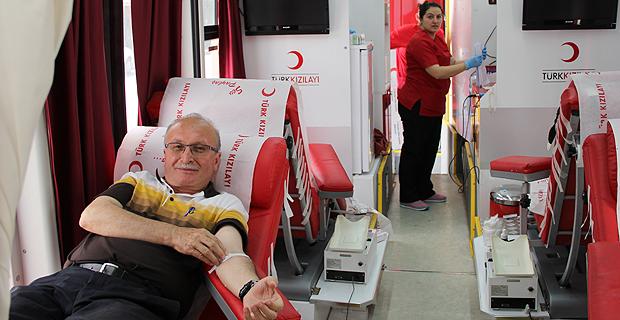 Mengen'de kan bağışı kampanyası