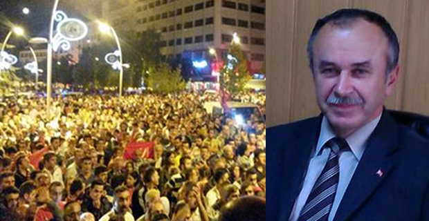 Mengen AK Parti İlçe Teşkilatı Basın Açıklaması
