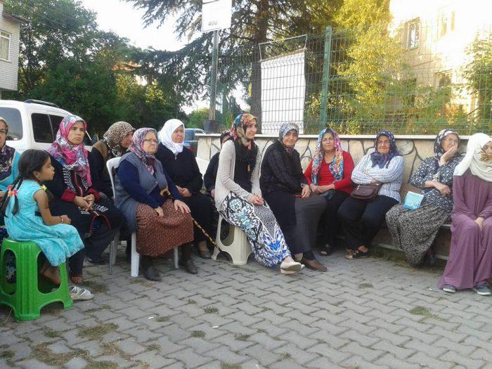 Mengen halkı son gün demokrasi nöbetinde