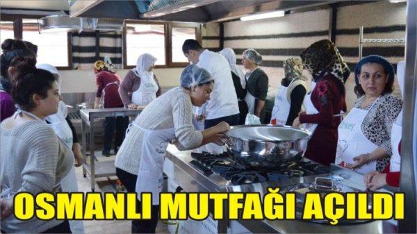 Konuralpli aşçılar Mengen'de Osmanlı Mutfağı açtı