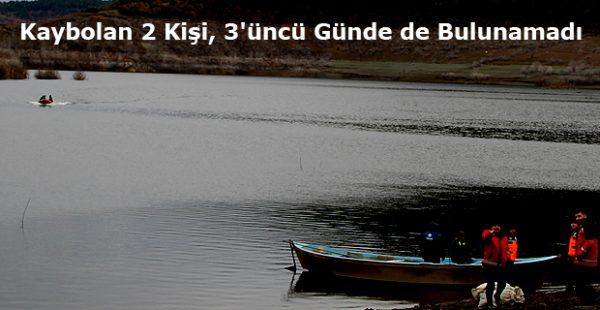 Köprübaşı Baraj Gölünde Kaybolan 2 Kişi, 3'üncü Günde de Bulunamadı