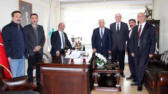 İç Anadolu Belediyeler Birliği'nden Mengen Belediyesi'ne ziyaret