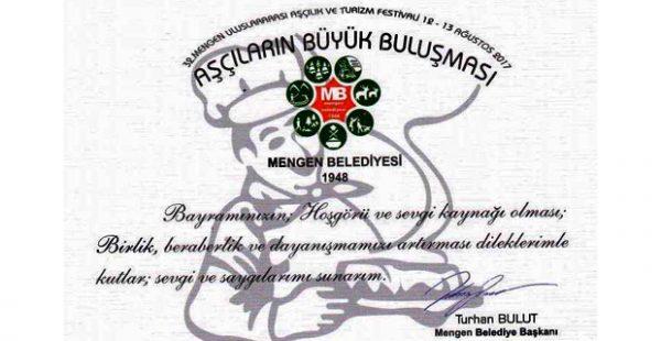 Belediye Başkanı Turhan Bulut'un  bayram kutlama mesajı