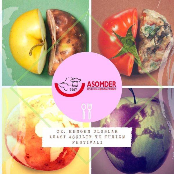 32. Aşçılık Festivalinde Mengen Aşçılık Okulu Mezunlar Derneği Gıda İsrafı  sergisi açacak