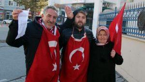 Oğlu ile Afrin'e gitmek için dilekçe verdi