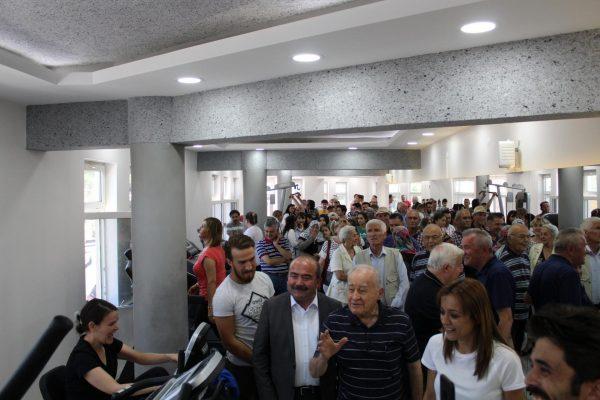 Mengen Belediyesi Fitness Salonu'nun Açılışı Yapıldı