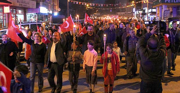 Mengen'de Cumhuriyet Bayramı coşkusu