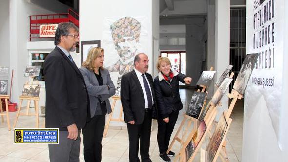 Mengen'de Atatürk resimleri sergisi açıldı