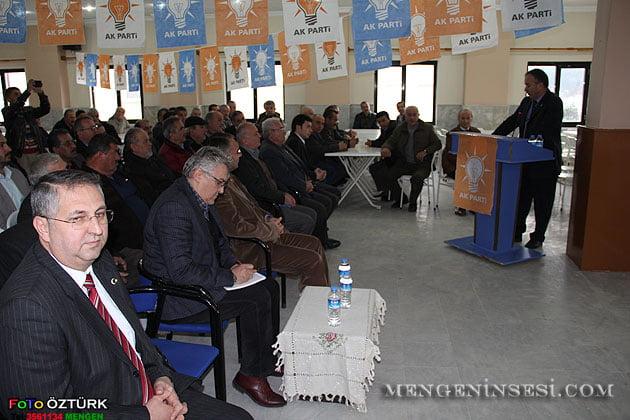 AK Parti Mengen  İlçe Danışma Meclisi toplantısı yapıldı