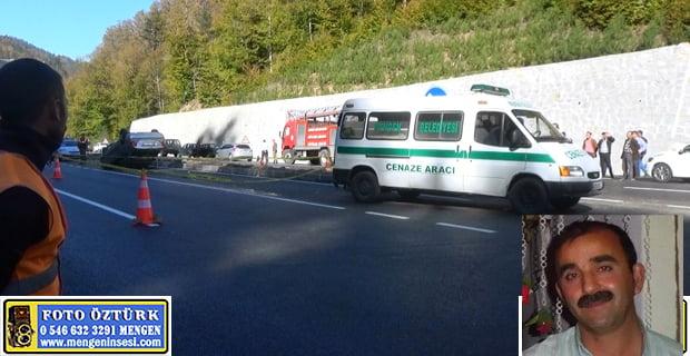 Mengen-Kıyaslar Köyü'nden Seydahmet Bezdemir Trafik Kazasında Hayatını Kaybetti