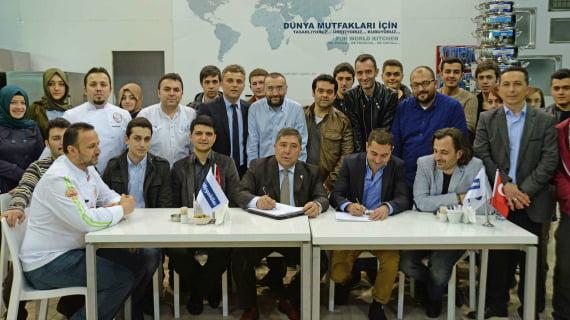 Öztiryakiler, Ulusal Aşçılık Kampı'nda şeflerin yanında