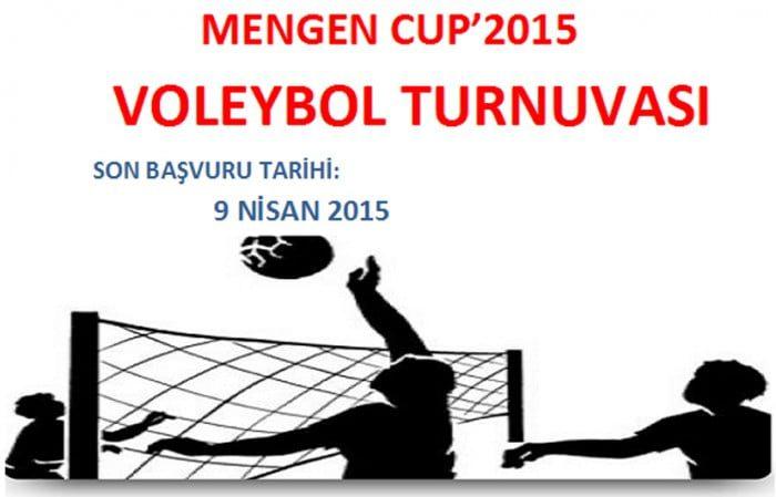 MENGEN CUP'2015 VOLEYBOL TURNUVASI